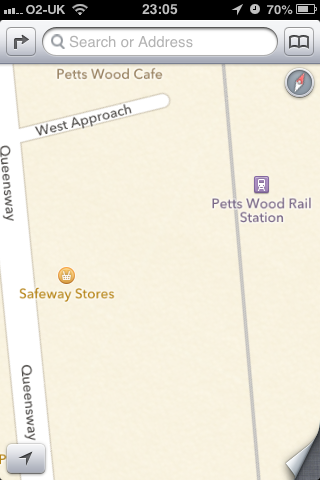 Safeway. Might still exist in US. Taken over in UK by Morrisons in 2004l